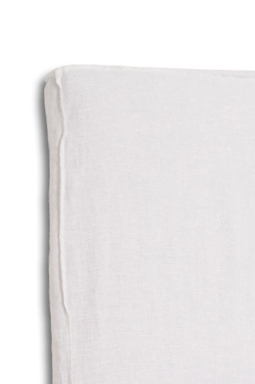 Sänggavel m. Klädsel Mira Loose-fit white 180x140