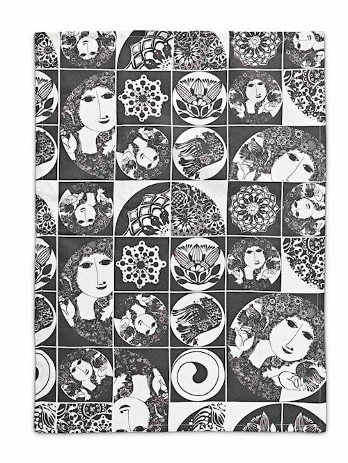 Kökshandduk, mörkgrå, 50x70 cm
