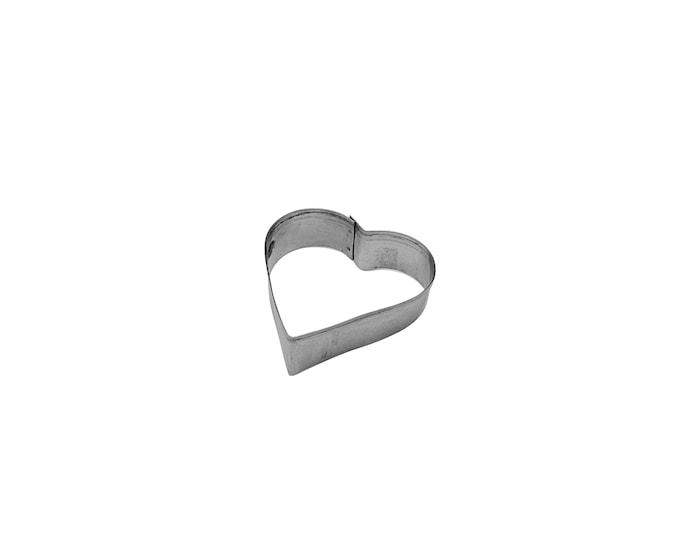 Kagetryk 4cm Stål, Hjerte