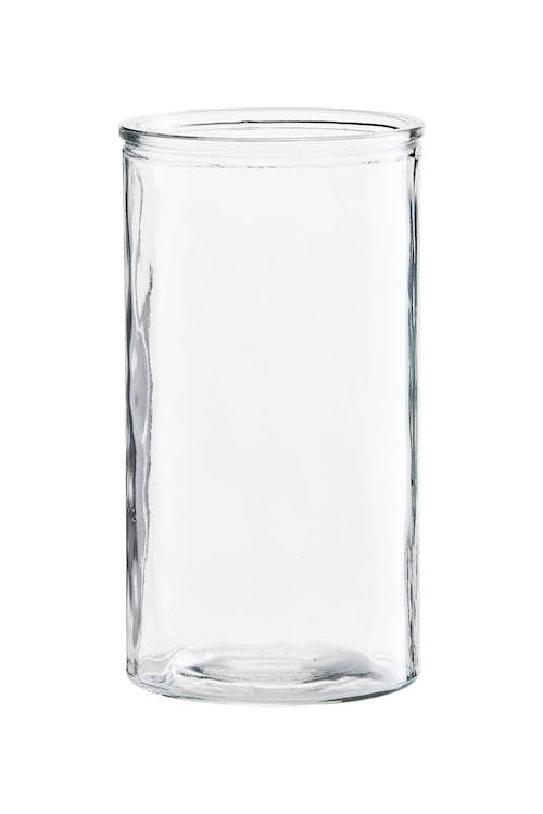 Vas Cylinder Ø 13x24 cm - Klar