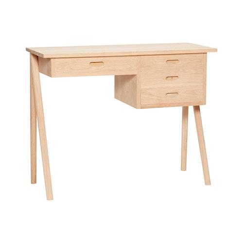 Skrivbord 100x40xh75 cm Natur