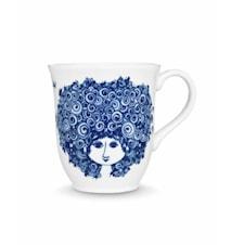 Kopp, Rosalinde, blå, 35 cl