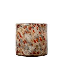 Vaasi/Kynttilälyhty Calore Multicolour 15 cm