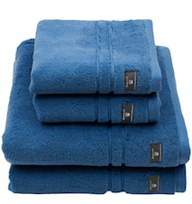 Premium Handduk 4-pack Blå 30x30 cm