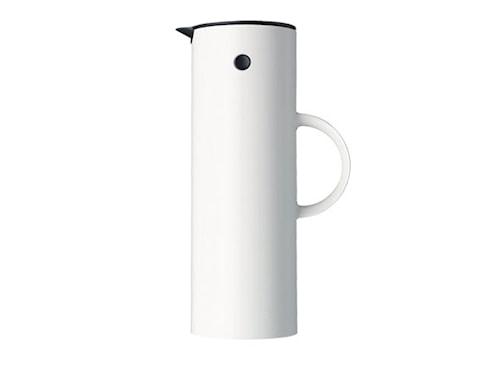 EM77 termoskanna 1 liter Vit