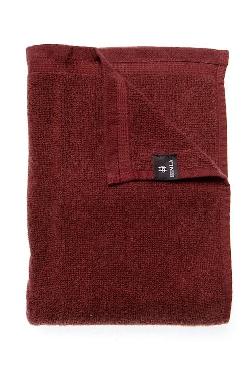 Handduk Lina 50x70 cm - Burgundy