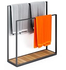 Garden towel hanger