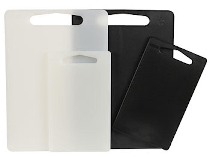 Skærebræt 2-pak i plast