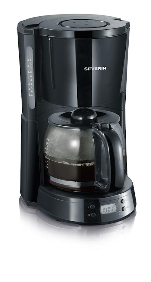 "Kaffebryggare Svart ""Select"" Timer"