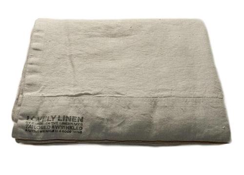 Lovely linen sengetøy – Light grey, 145x210
