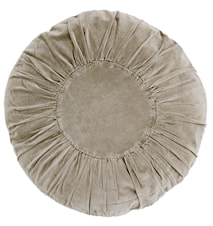 Pyöreä Tyyny Ø 60 cm - Hiekka