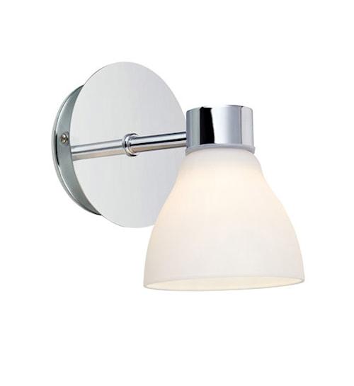 Cassis Vägglampa 1 Ljus Krom