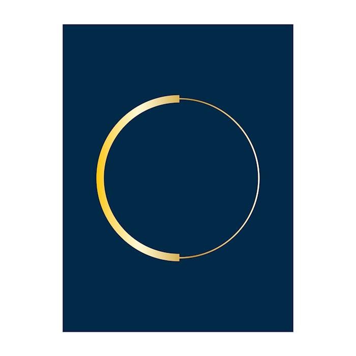 Poster Guldcirkel