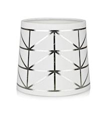 Trend Lampeskjerm Hvit/Sølv