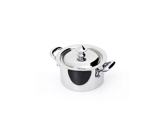 Cook Style Gryte med lokk 0,3L blank stål