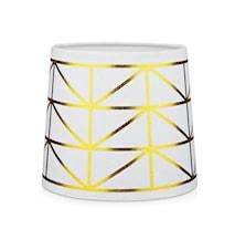 Trend Lampeskærm Hvid/Guld