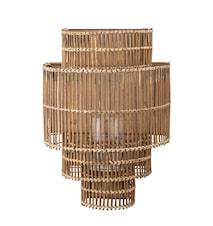 Katarina Vägglampa Natur Bambu