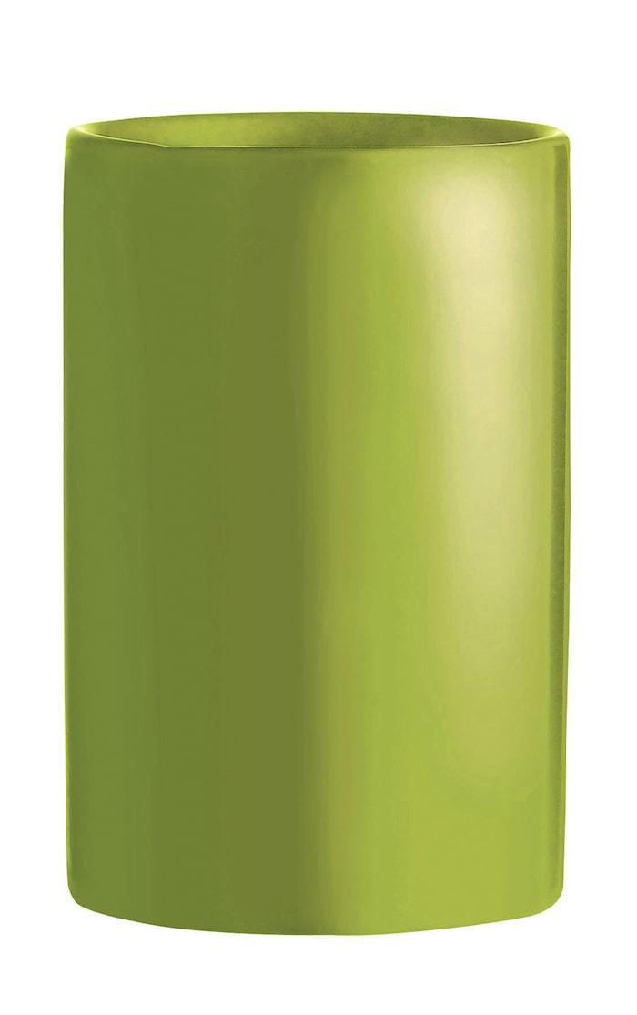 Tannbørstekopp Lime 11 cm