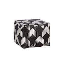 Square pattern sittepuff
