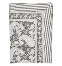 Tablecloth large Paisley Dark Gray