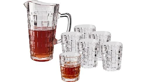 Glastillbringare rymd 1,5 L  6 st glas rymd 3,0 dl