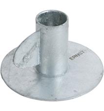 kynttilänjalka h 7 cm Sinkitty