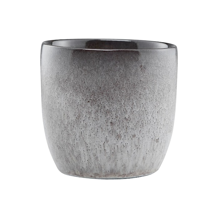 Handgjord Mugg Stone Grå 4 pack