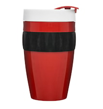 To Go kopp rød/svart/hvit