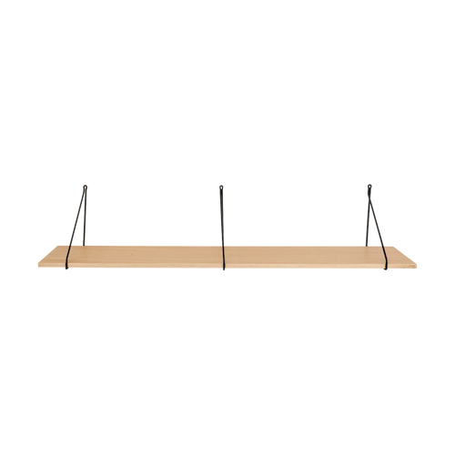 Apart Hylleplan Eikfaner 129x24x1,5 cm