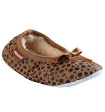 Varberg tofflor Barn leopard