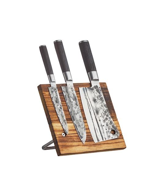 Knivställ Stående/Väggmonterad