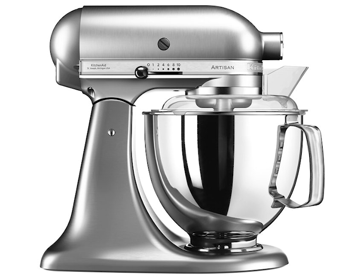 Artisan 175 Kjøkkenmaskin 4,8 liter Børstet nikkel
