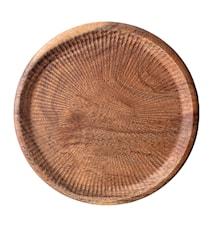 Skjærebrett Acacia Ø25 cm