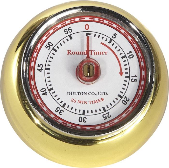 Dulton Timer Guld 7,5cm