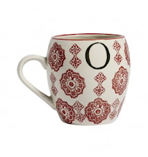 LETTER cup, O