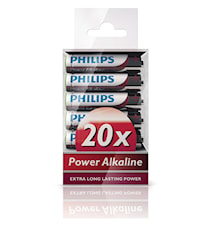 Fashion Power Alkaline AAA 20-pack