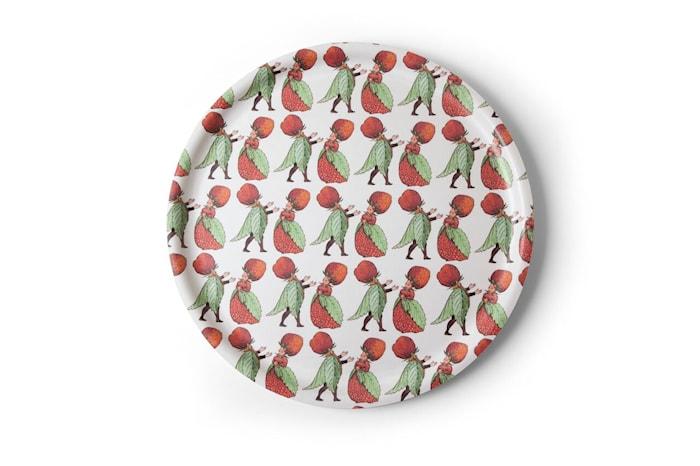 Elsa Beskow Bakke Familien Jordbær 35 cm