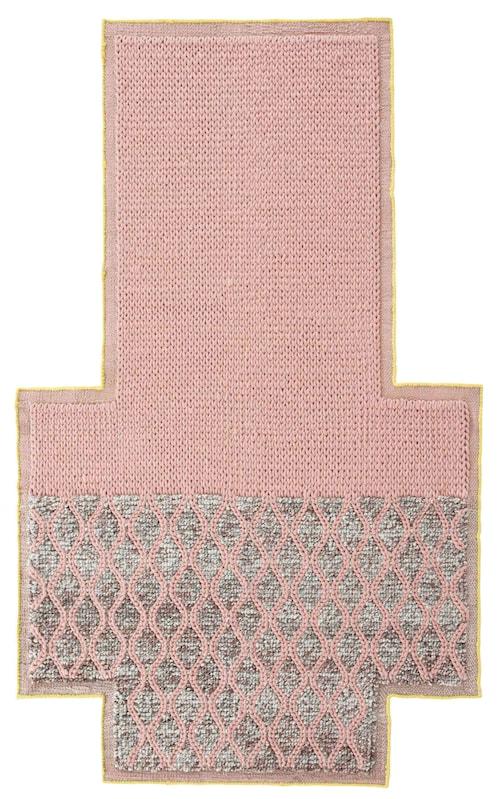 Mangas Rhombus Ullmatta 160x250 - rosa