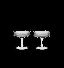 Ripple Champagneglas 2-pack Smoked Grey