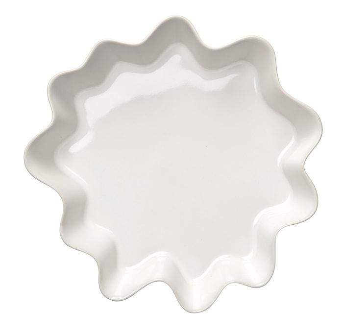 HK Tærteform 2 L hvid blank