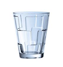 Dressed Up Water glass set4pcs blue