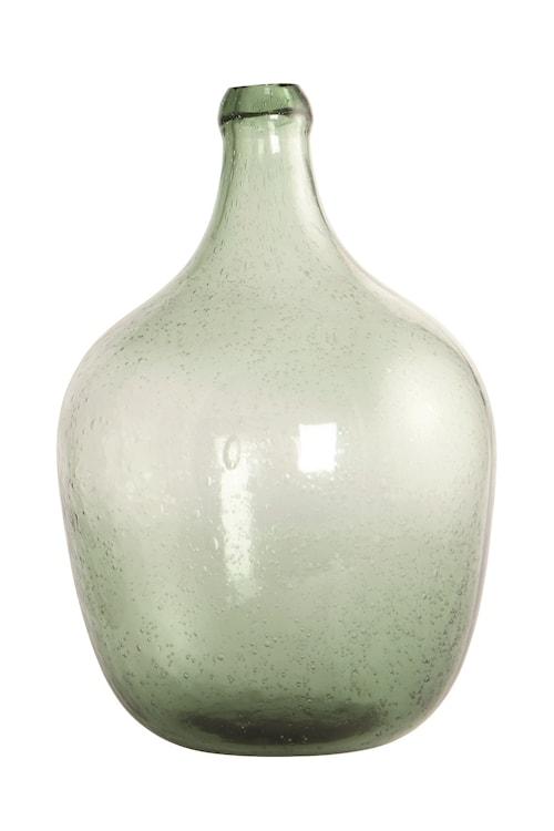 Glasflaska Rec 28,5 cm - Ljusgrön