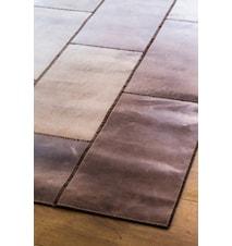 Leather Brown Gulvtæppe - 90x210