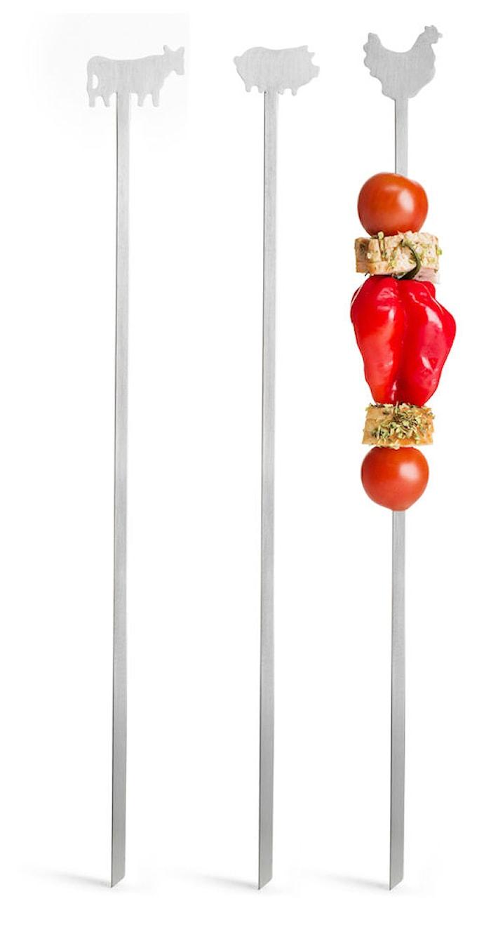 BBQ Grillspyd Kjøtt 4-pack