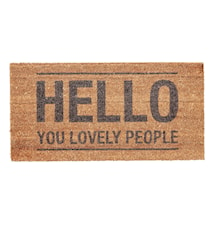 Dörrmatta Hello