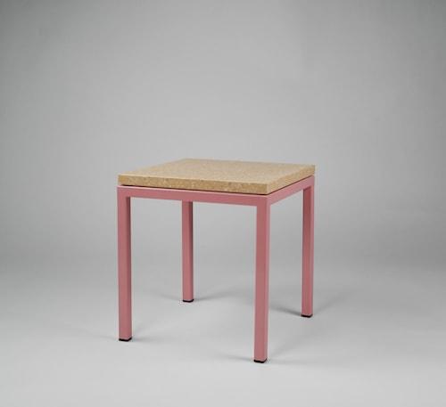 Piccolo bord 30x30x30 - Rosa underrede, Pisa pink