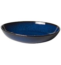 Lave bleu Tallrik 21 cm