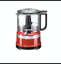 Mini Foodprocessor 0,95 liter Röd