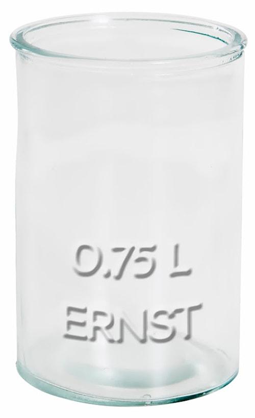 Glaskruka 0,75 liter Ernst