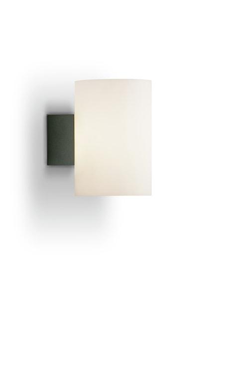 Evoke vägg antracit/vit glas E14